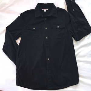 True Religion button down two front pockets